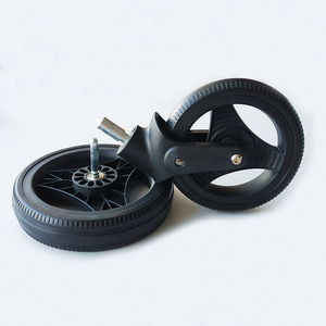 Image 5 - Stroller Wheel Tire and Accessories Yoya Plus Original Front Back Wheels for Yoyaplus 2/3/4/Max/Pro Series