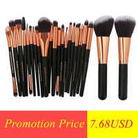 22Pcs Beauty Makeup Brushes Set Cosmetic Foundation Powder Blush Eye Shadow Lip Blend Make Up Brush Tool Kit Maquiagem