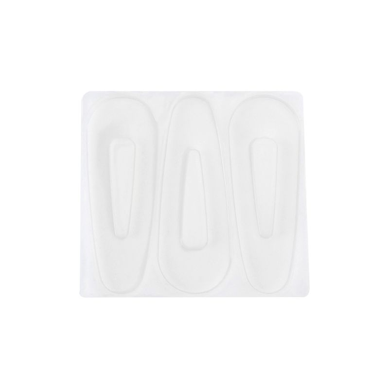 DIY Crafts Resin Silicone Epoxy Mold Hair Clip Barrette Mould Jewelry Casting