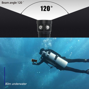Image 3 - Đèn LED Mới Lặn Đèn Pin Sử Dụng XHP70 / L2 Hạt Đèn 20000Lumens Chống Nước Chiến Thuật Đèn Pin Chụp Ảnh Camera Chiếu Sáng