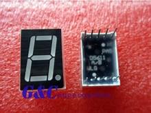 10PCS 0.56 inch 1 digit Blue Led display 7 segment Common cathode diy electronics 20pcs 0 56inches 7 segment 2 digital led display super red common cathode