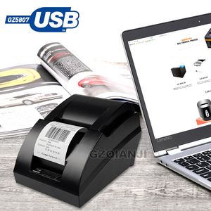 Image 5 - 58mm thermal USB Bluetooth 2 inch receipt Bill printer 58mm usb thermal printer usb pos system for supermarket