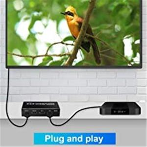 Image 4 - 2020 Best 4K@60Hz HDMI Matrix 2x2 Switch Splitter Support HDCP 1.4 IR Remote Control HDMI Switch 2 In 2 Out HDMI Matrix Switch