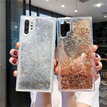For Samsung Note 10 Case Pro Glitter Liquid Quicksand Cover Galaxy 10Pro Note10 Phone