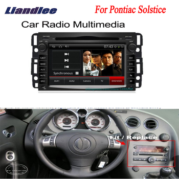 Liandlee 2 din Car Android For Pontiac Solstice GPS Navi Navigation Radio TV CD DVD Player Audio Video Stereo OBD2