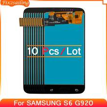 10pcs LCD TFT Incell For SAMSUNG GALAXY S6 G920 G920F LCD Replacment Parts Digitizer Assembly for SAMSUNG SM-G920F G920F G920FD
