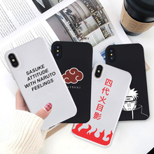 Naruto's Phone covers for iPhone 7 11 XS MAX XR X 8 6 6s Plus