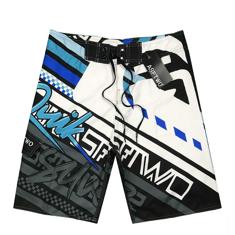 Swimming Beach Shorts Men Swimwear Quick Dry Swimsuit Swim Trunks Beachwear Bathing Surf Summer Running Pocket Bottoms