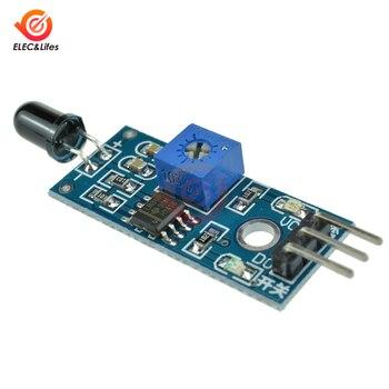 5Pcs 3.3V-5V LM393 Flame Detection Sensor 3Pin IR Infrared Receiver Control Module 760nm-1100nm