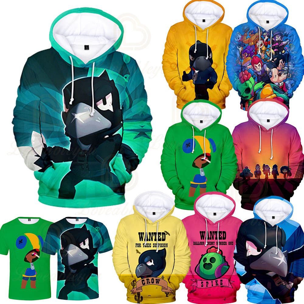 Shooting Game 3D Printed Hoodie Sweatshirt Boys Girls Harajuku Cartoon Jacket Tops Teen Clothes 3 To 14 Years Kids Hoodies