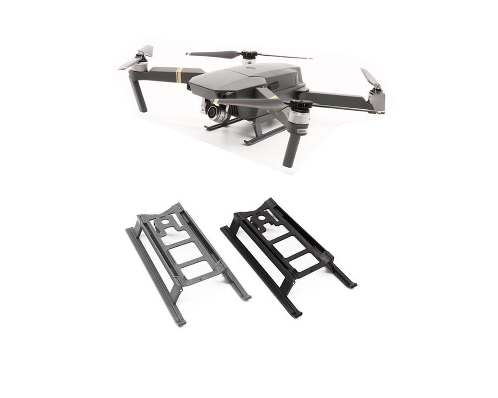 Folding Landing Gear Kit For Dji Mavic Pro Platinum Drone Height Extender Leg Guard Protector Landing Gear Aliexpress