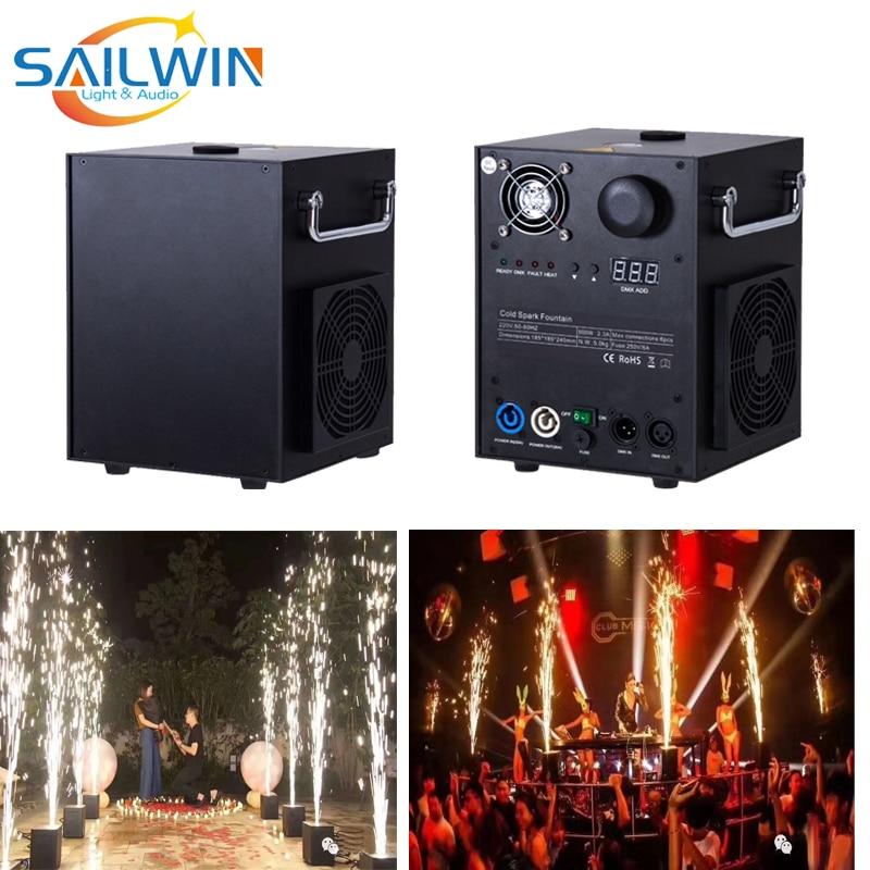 Grande vente 500W effets de scène DMX étincelle Machine froide sparkulaire pour la célébration de mariage DJ éclairage fontaine cascade effets