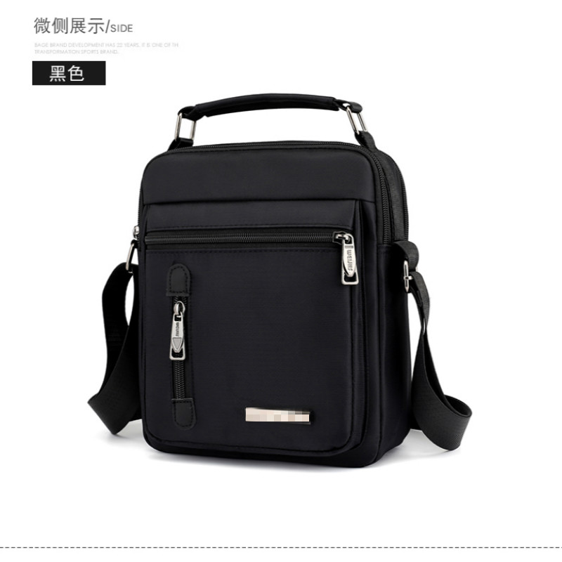 1PCS  New Men's Bag Canvas Leisure Single Shoulder Bag Slant Span Small Bag Men's Light Small Travel Bag Men Bag