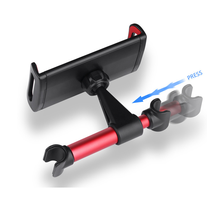 Universal Holder 360 Degree Rotation Adjustable Back Seat Stand For Mobile Phone ForiPad Tablet Car Rear Pillow