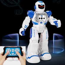 Early Education Intelligent Robots Toy Kids Electric Singing Infrared Sensing Children's Remote Control Robot Toys for Boys Gril