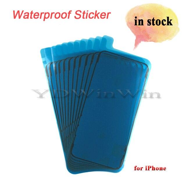 100 adet su geçirmez Sticker iPhone 6s 6s artı 7 artı 8 8 artı X XS 11 pro max XR LCD ekran bant 3M yapıştırıcı tutkal onarım parçaları