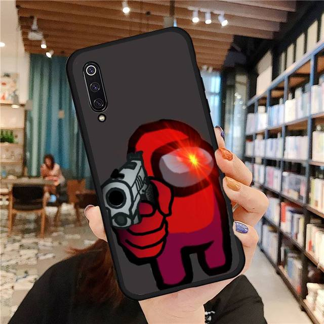 AMONG US THEMED XIAOMI PHONE CASE