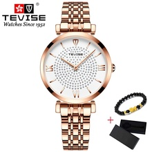 Tevise Women Bracelet Watches 2019 Stain
