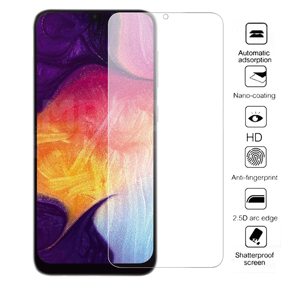 tempered glass for samsaung galaxy A70 A80 A90 A10 A20 A30 A40 A50 A60 phone screen protector A20E protective film on the glass