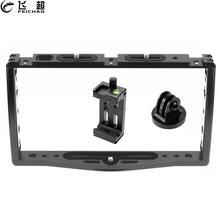 Smartphone Video Rig Kit Filmmaken Slr Camera Vlog Dual Handheld Stabilizer Grip Beugel Voor Gopro 9 8 5 Voor Iphone canon Nikon