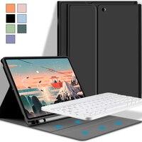 2020 ipadの空気4ケースとbluetoothキーボード2 9.7 10.2 7th 8th空気3 10.5 10.9 ipadプロ11マジックキーボードカバー