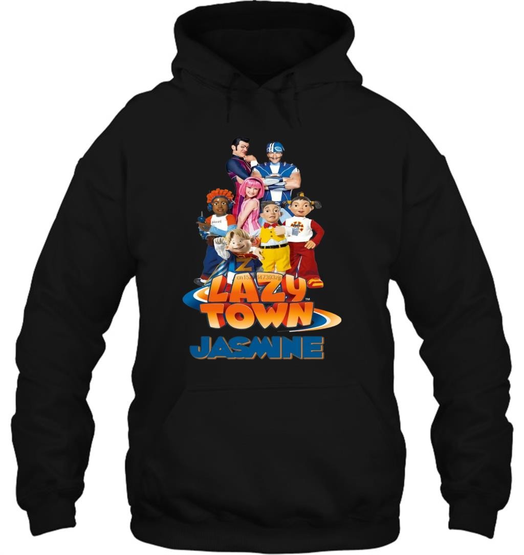 Lazy Town Custom Personalize Birthday Stephanie Sportacus Streetwear Men Women Hoodies Sweatshirts