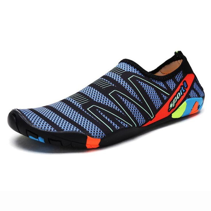 Men Women  Aqua Shoes Sneakers Quick Dry Swimming Footwear Unisex Outdoor Breathable Upstream Beach Shoes 14