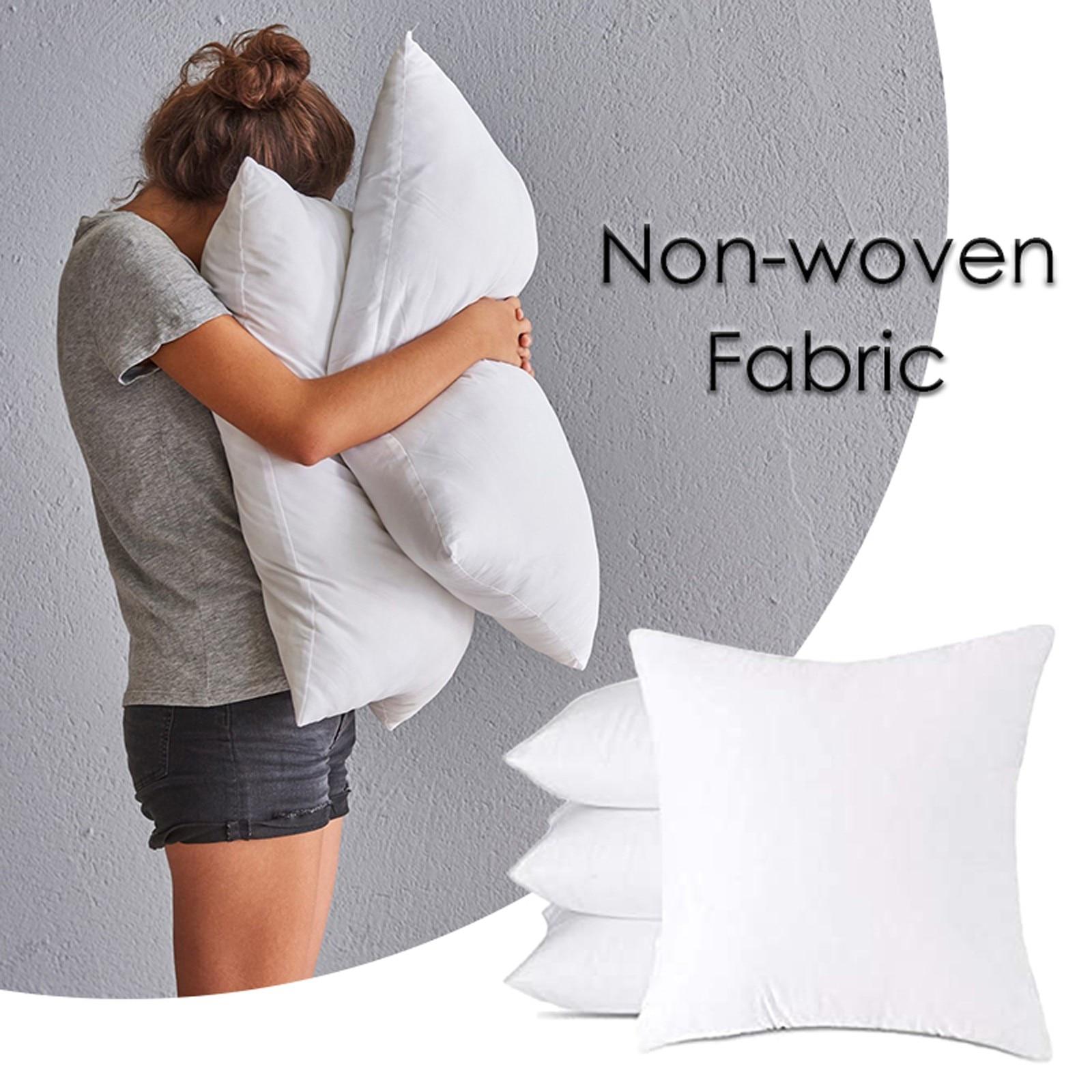 Наполнитель Подушки для изголовья кровати, Нетканая ткань с шерстяной тканью, наполнитель подушки для дома, подушка с хлопковой подкладкой ...