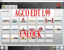 2021 AGCO Electronic Diagnostic Tool 1.99 [UPDATE TO 01.2021] EDT+Activation For any Interface INSTALL UNLIMITED COMPUTER