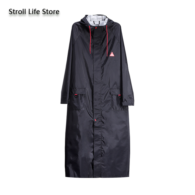 Long Windbreaker Women Raincoat Jackets Outdoor Hiking Yellow Rain Coat Poncho Waterproof Suit Couple Raincoats Impermeable Gift 5
