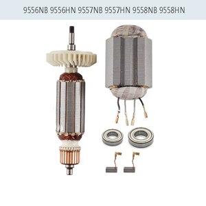 Image 1 - AC220 240V armatura Rotor dla MAKITA 518870 8 510107 9 515613 9 9558NB 9556NB 9556HN 9558HN 9557NB 9557HN 9556HNG 9558NBR