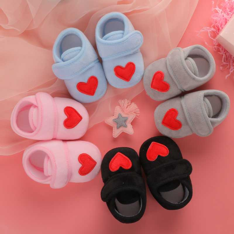 Baby Shoes Red Heart newborn sneakers