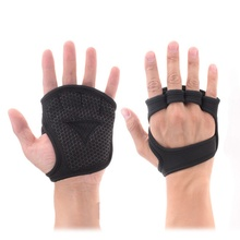 2pcs Weight Training Gloves Fitness Gymnastics Grip Handle P