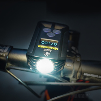 Top Sales Nitecore BR35 1800 Lumens 2x CREE XM-L2 U2 Built-In Battery Pack Dual Distance Beam Rechargeable Bike Light for Riding