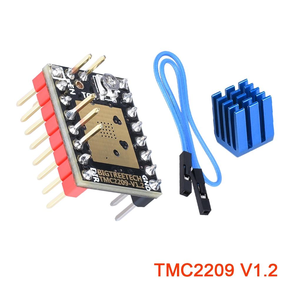 BIGTREETECH TMC2209 V1.2 Silent StepStick Stepper Motor Driver Controller Upgrade TMC2208 UART For SKR V1.3 MKS GEN L 3D Printer