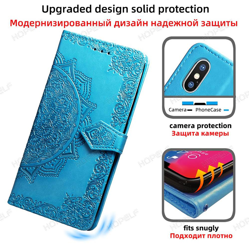 Ha5d833cdef72425094ec09996df7a11e8 HOPELF For Xiaomi Redmi Note 7 8 Pro 6 Case Cover on Coque Filp Wallet Leather Case for Redmi 7A 8A 6A 6 7 8 Note 8t Phone Cases