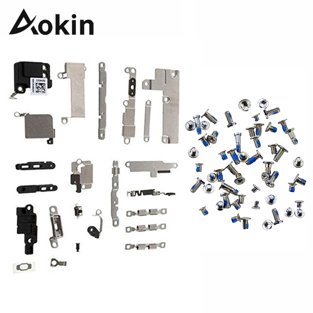 Screws Bracket 6plus iPhone 5 for 5C 5S 6/6s/6plus/.. Fastening-Pad Spacer Full-Set title=