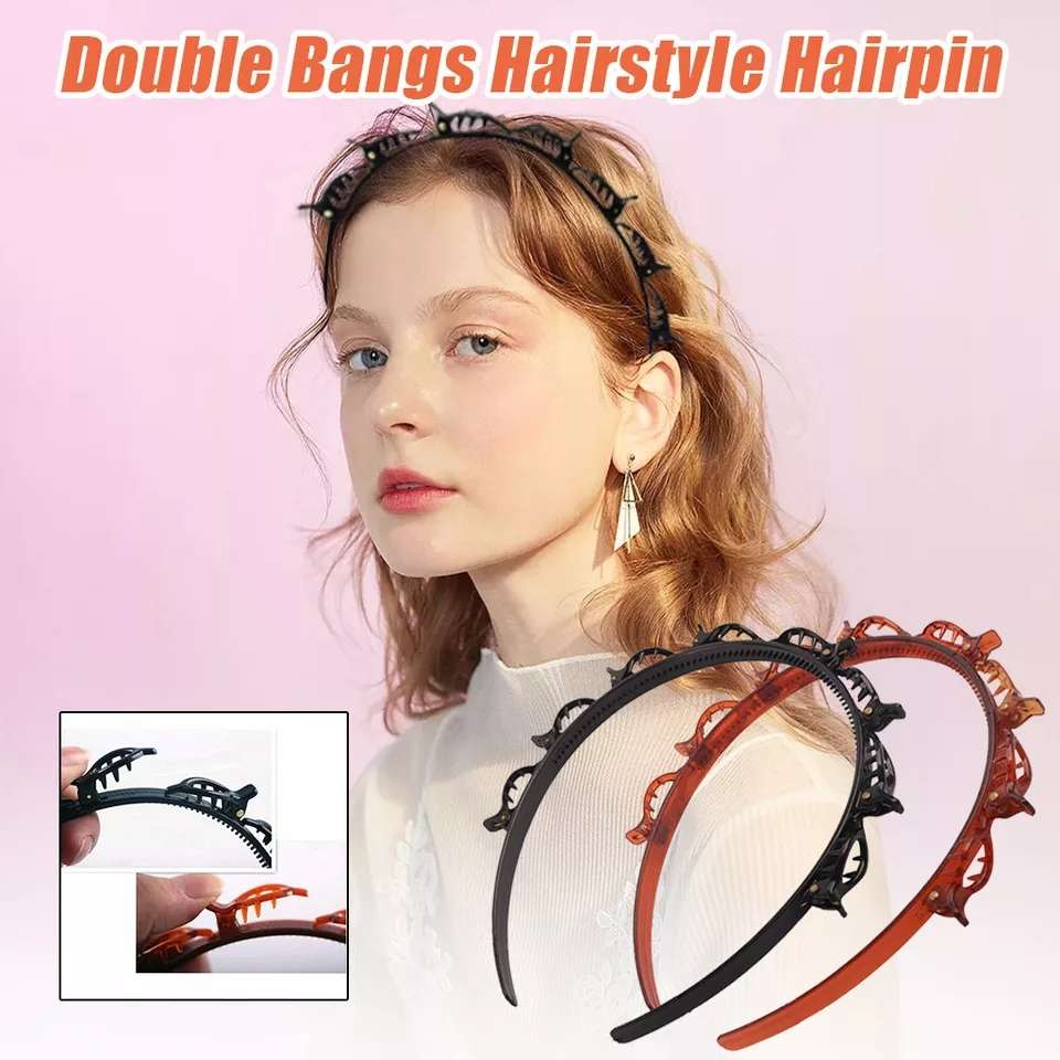 2020 NEW Double Bangs Hairstyle Hairpin high quality J5X1