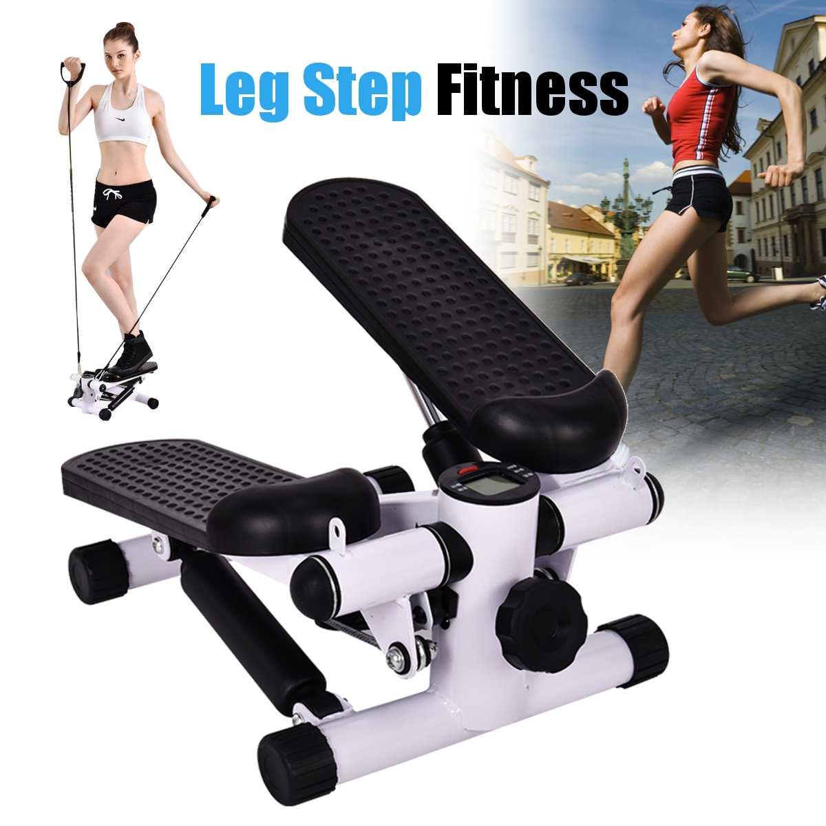 Бытовое многофункциональное педальное небольшое спортивное оборудование для похудения Steppers с ручкой + ЖК-монитором