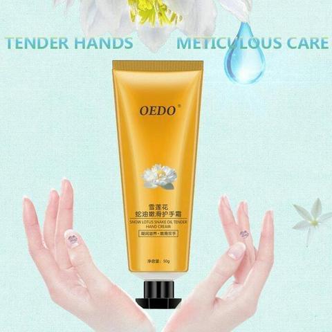 Snow Lotus Snake Oil Moisturizing Cream Anti-Wrinkle Whitening Sunscreen Hand Skin Care Products Lahore