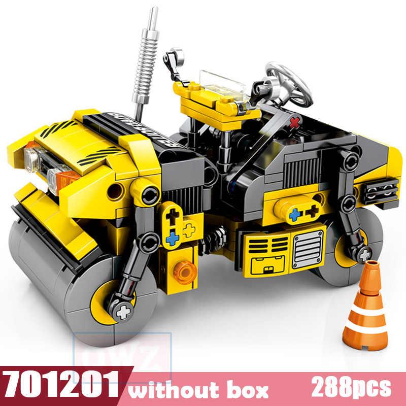 Новый город инженерный грузовик техника экскаватор модель Legoes Строительные блоки Кирпич набор Город Дети игрушки для детей подарок