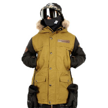 Гарантируем подлинность! Мужские лыжные куртки Для мужчин, Термальность Cottom-мягкий сноуборд новые высококачественные Для мужчин лыжная куртка