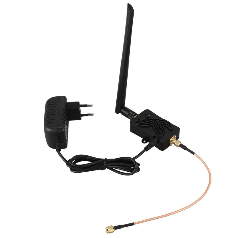 4 Вт 802.11B/G/N Bluetooth Wifi беспроводной усилитель маршрутизатор 2,4 ГГц WLAN ZigBee BT усилитель Сигнала Антенна ЕС вилка