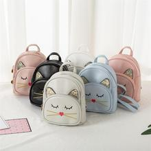 Cute Cat Children Cartoon School Bags Pupil Girl  princess backpacks backpack