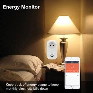 Image 3 - ACCKIP Prise Connectée WiFi 16A Mini Smart Plug Fonctionne via Android iOS Alexa Google Home Plug Adaptor with Energy Monitor