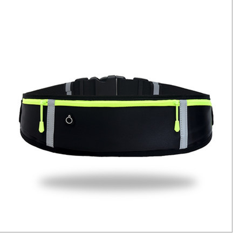 Men Women Waist Pack Running Sport Bum Bag Pack Travel Belly Money Belt Zip Hiking Pouch Wallet  /BY