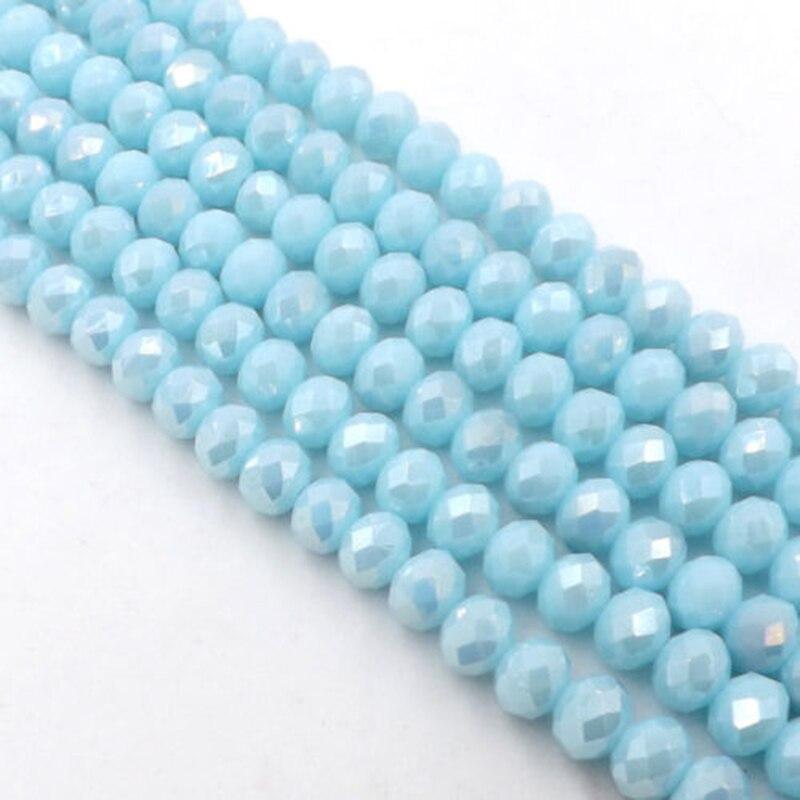 STENYA minuscule 2mm gros cristal tchèque perles Rondelle gland résultats de bijoux entretoise boucle d'oreille Brincos Long collier accessoires
