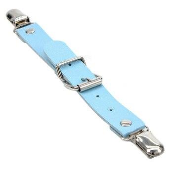Women Punk Heart Sexy PU Leather Garter Belt Harajuku Elasticity Body Harness Tight Suspender Strap Leg Harness Bondage Belts 8