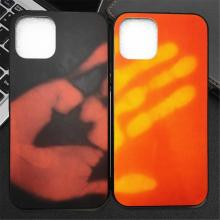 Температурный цвет меняющий чехол для телефона TPU аксессуары для телефона пыленепроницаемый термосенсорный чехол для iPhone 11 Pro Max аксессуары
