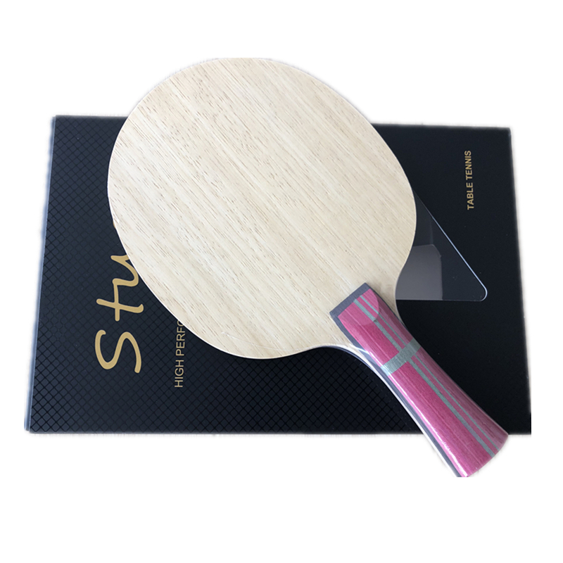 Stuor7 Layers Structure Inner Carbon Fiber Good Control Table Tennis Blade For Ping Pong Funs Best Price High End Quality